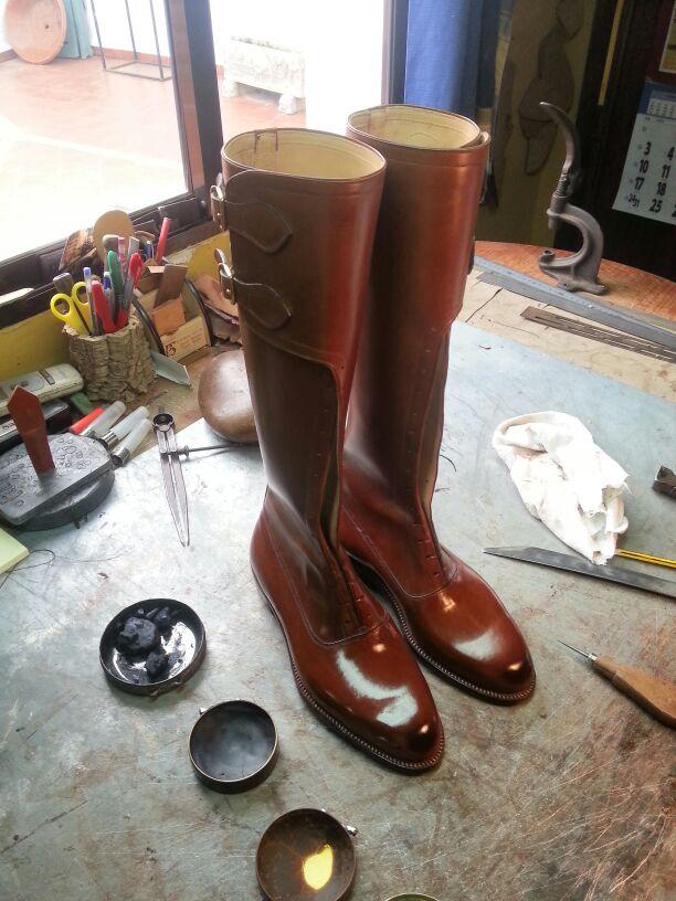 botas hechas a mano