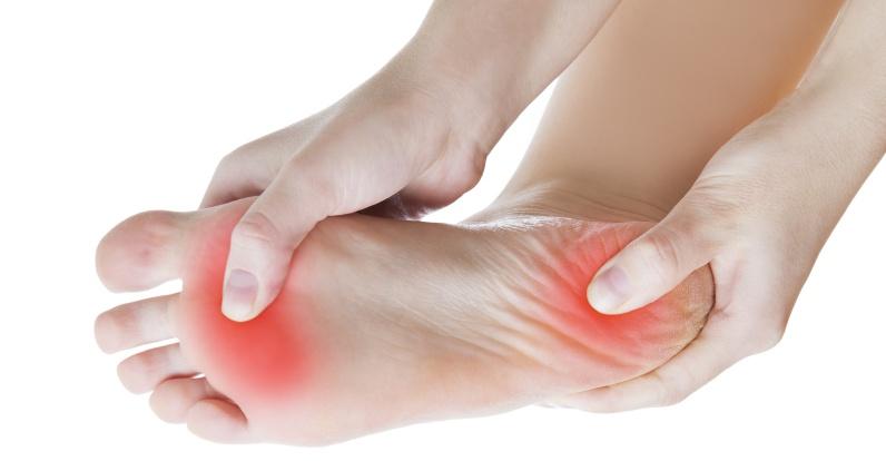 Dolor en la almohadilla del pie metatarsos