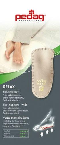 Plantillas pies valgos pedag relax